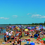Busy-Sauble-Beach