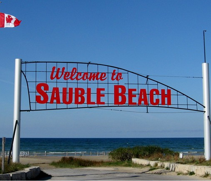 Sauble-Sign